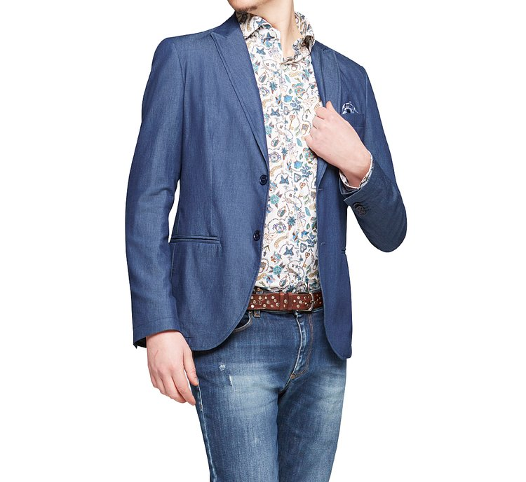 Blazer colletto revers
