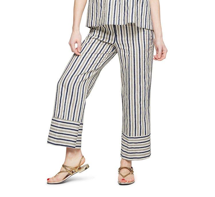 Pantalone in stile marinaro