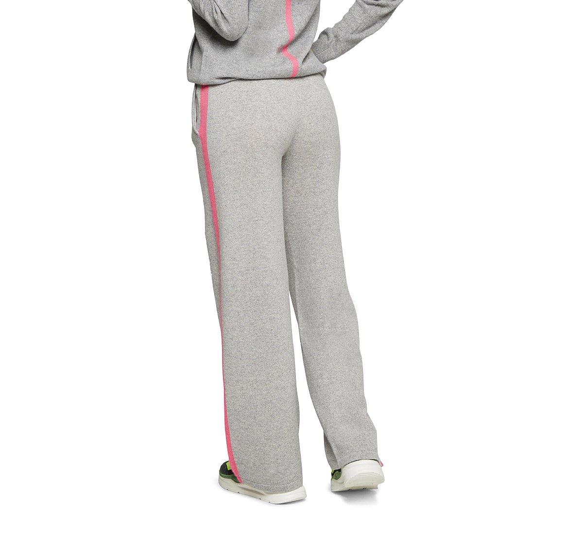 Fine cashmere trousers