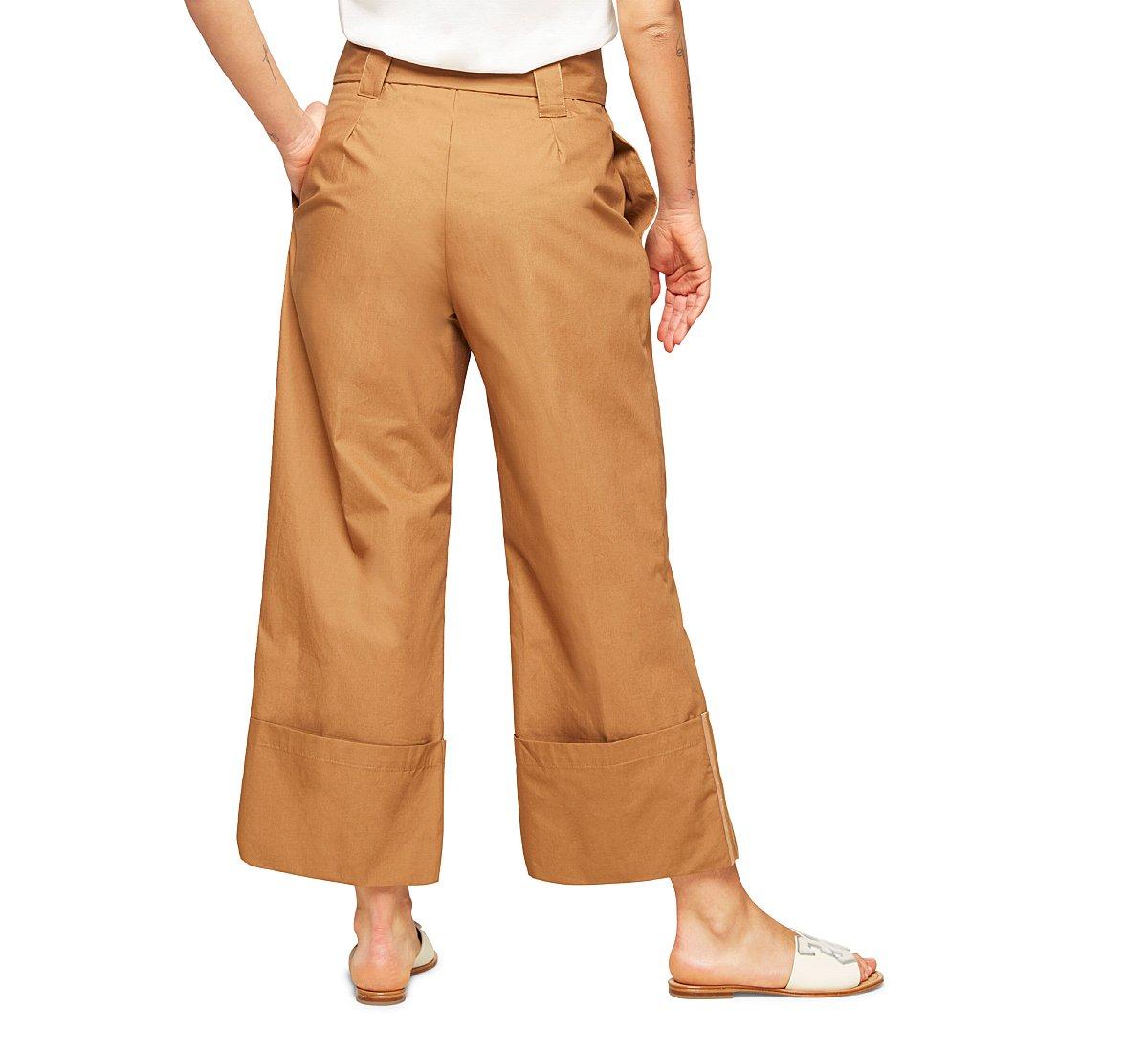 Pantalone palazzo a vita alta