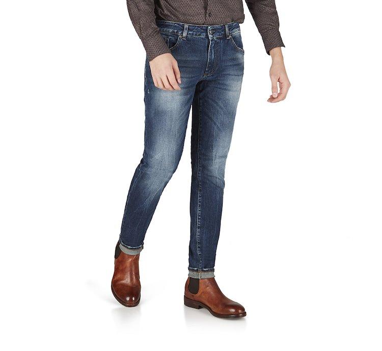 Jeans in morbido cotone