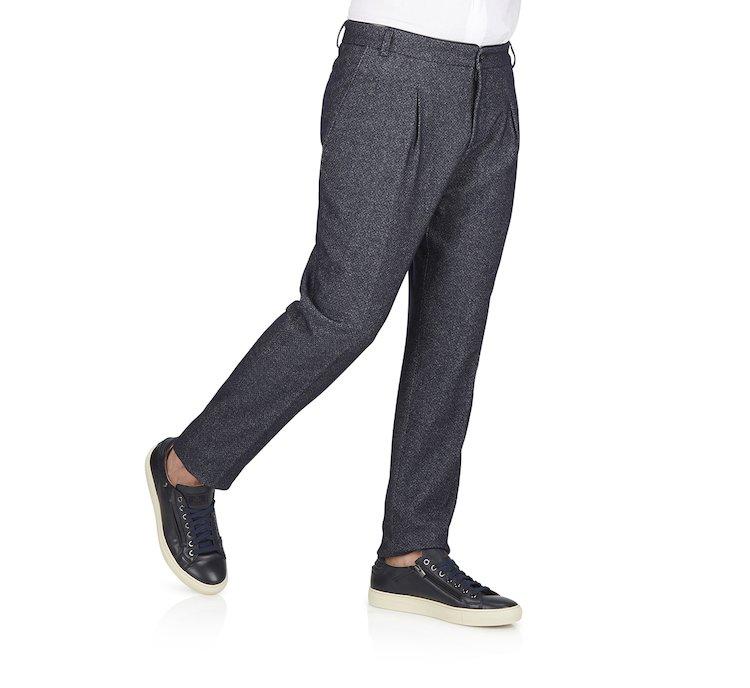 Хлопковые брюки Oversize