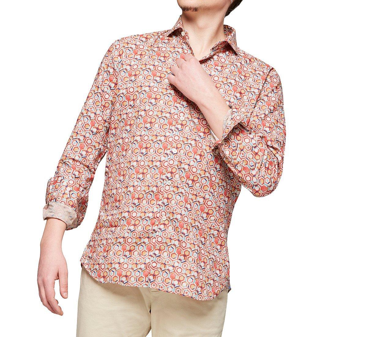 Camicia in cotone regular fit