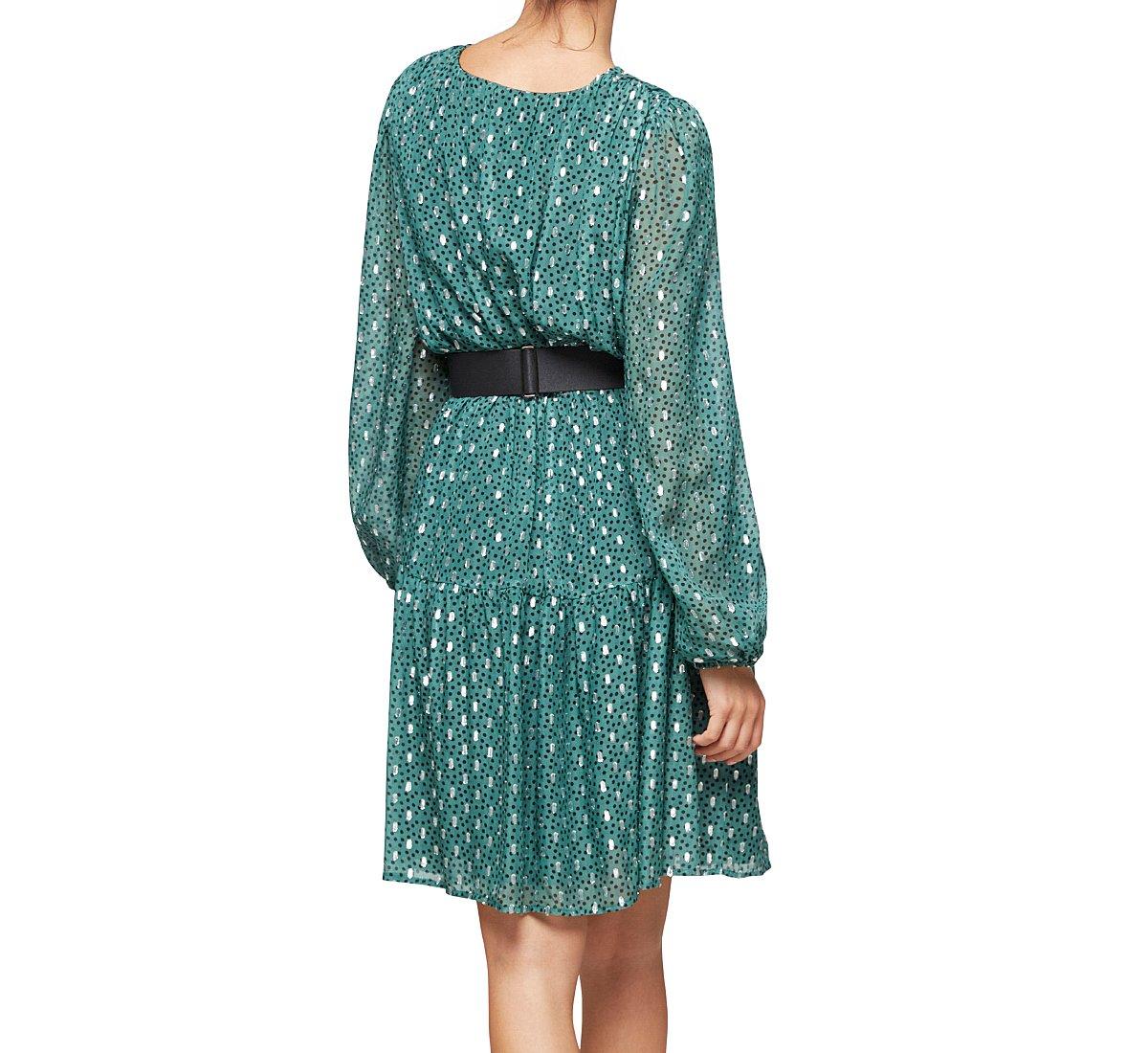 Платье до колена из вискозы