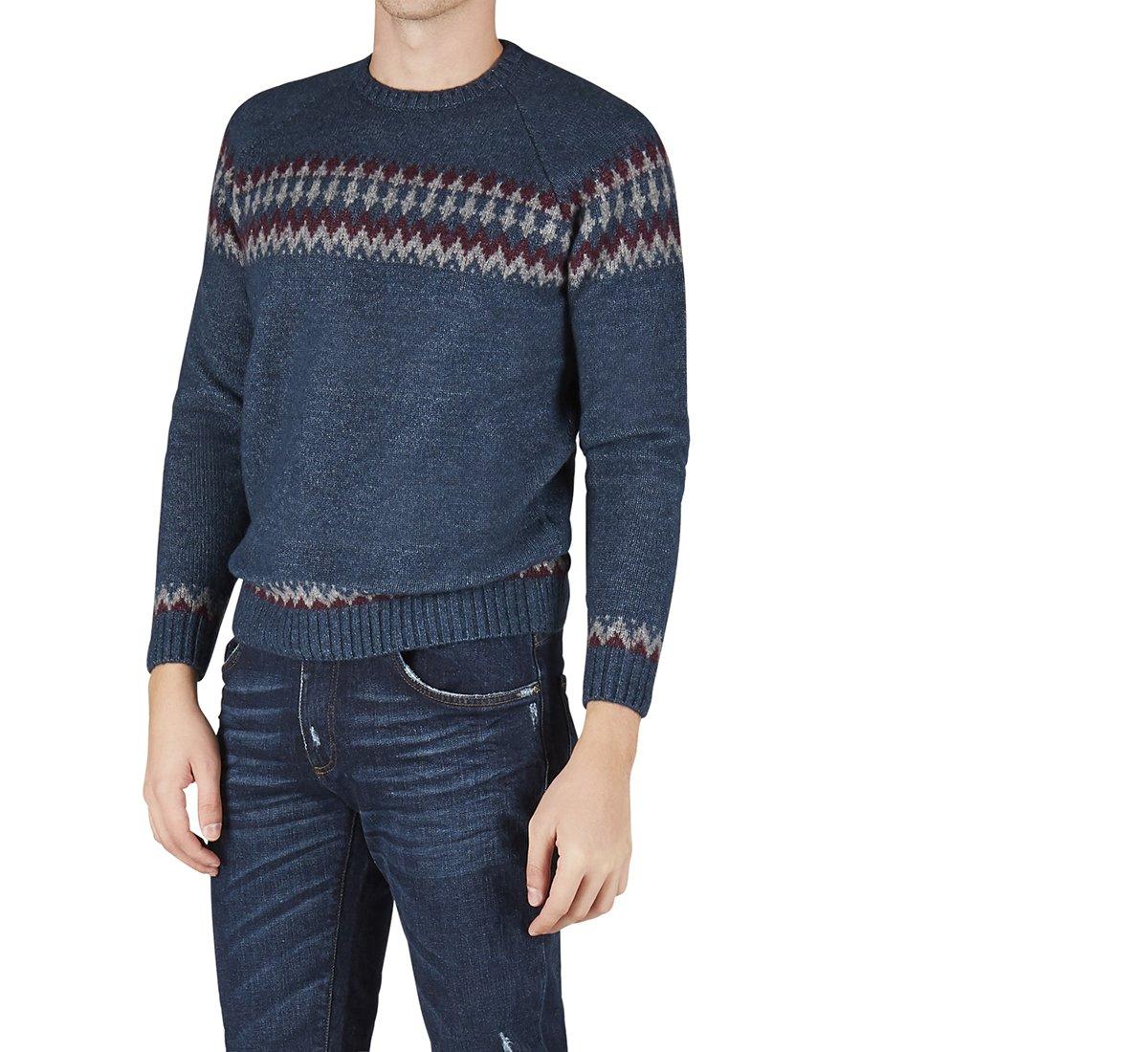 Pullover in morbida lana