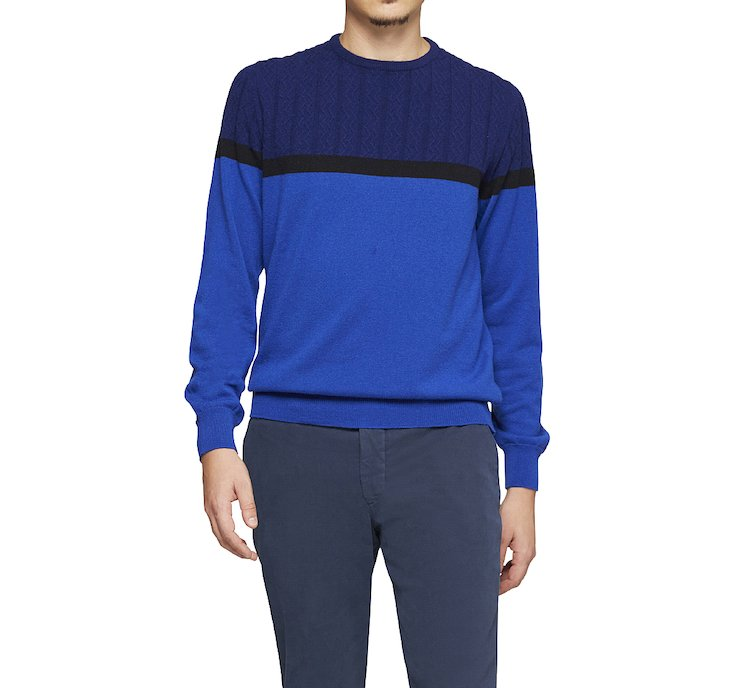 High-quality cashmere pullover