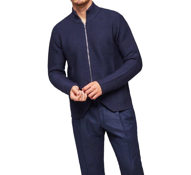 Cardigan 100% lana