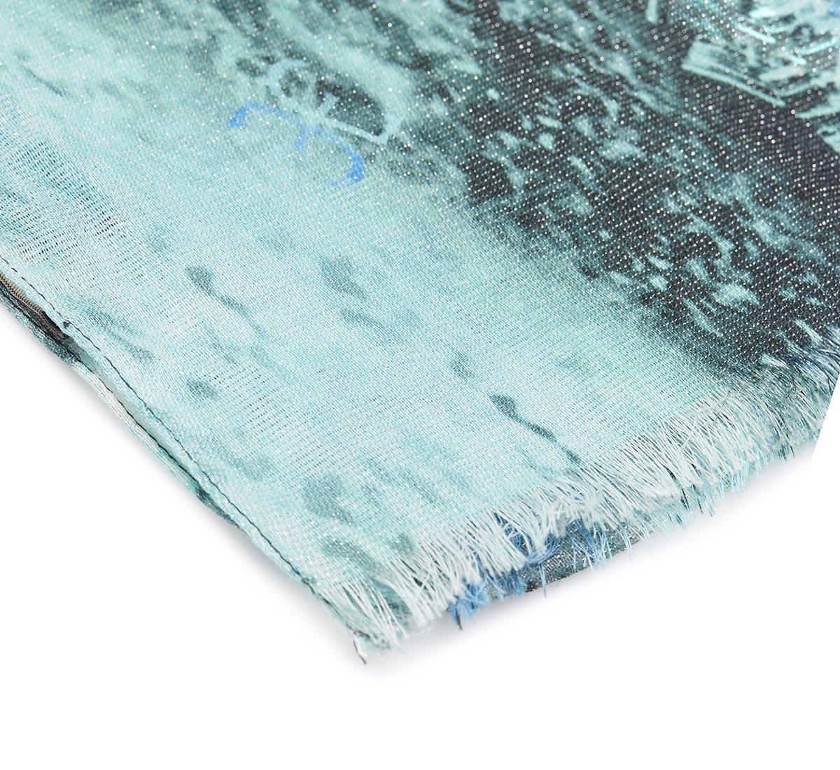 Foulard acquamarine