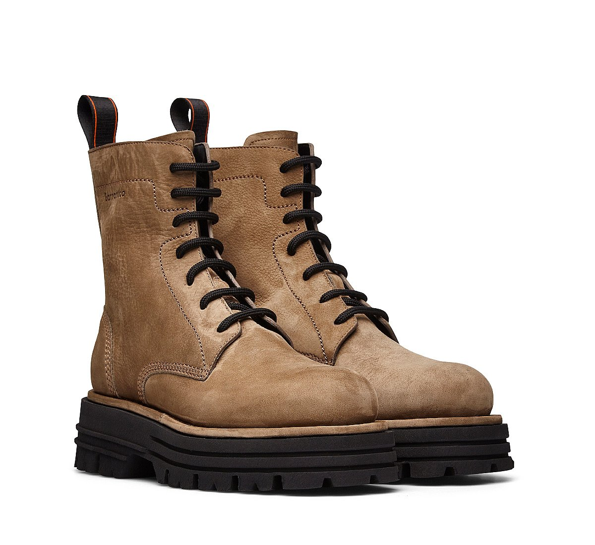 Barracuda Beatle boots in soft Nubuck leather