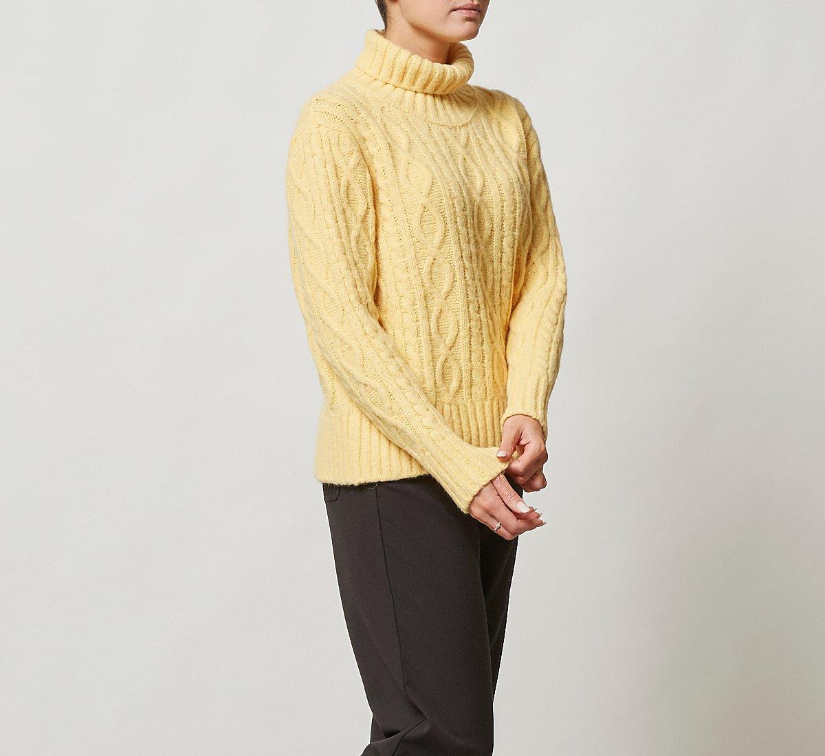 Maglione in calda lana
