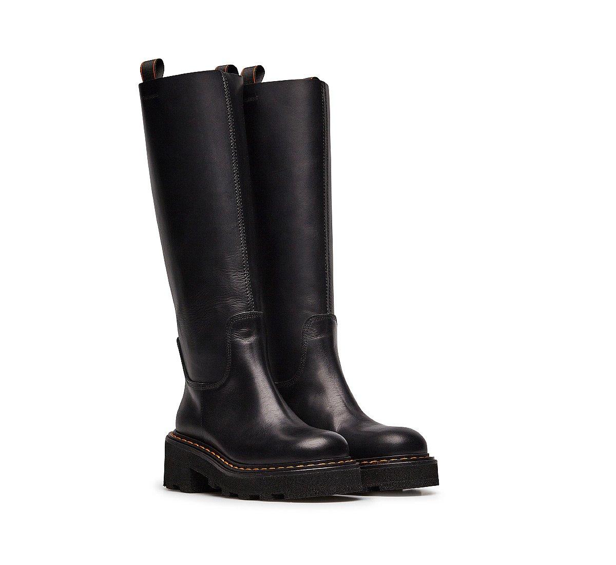 Barracuda fine calfskin boots