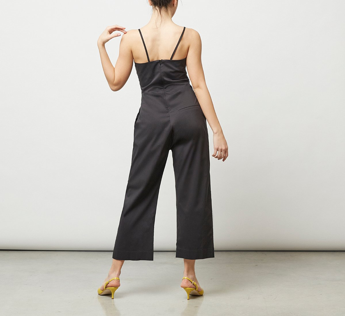 Soft fabric jumpsuit