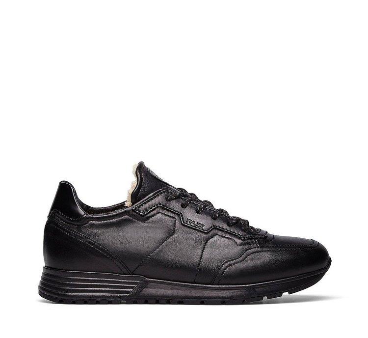 Sneaker Linea Tiche con fodera in merino