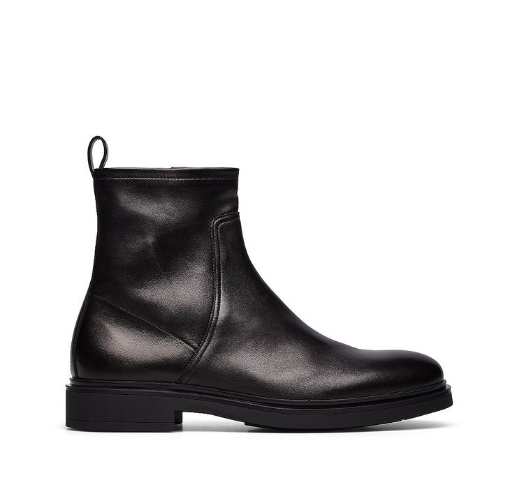 Nappa leather Beatle boots