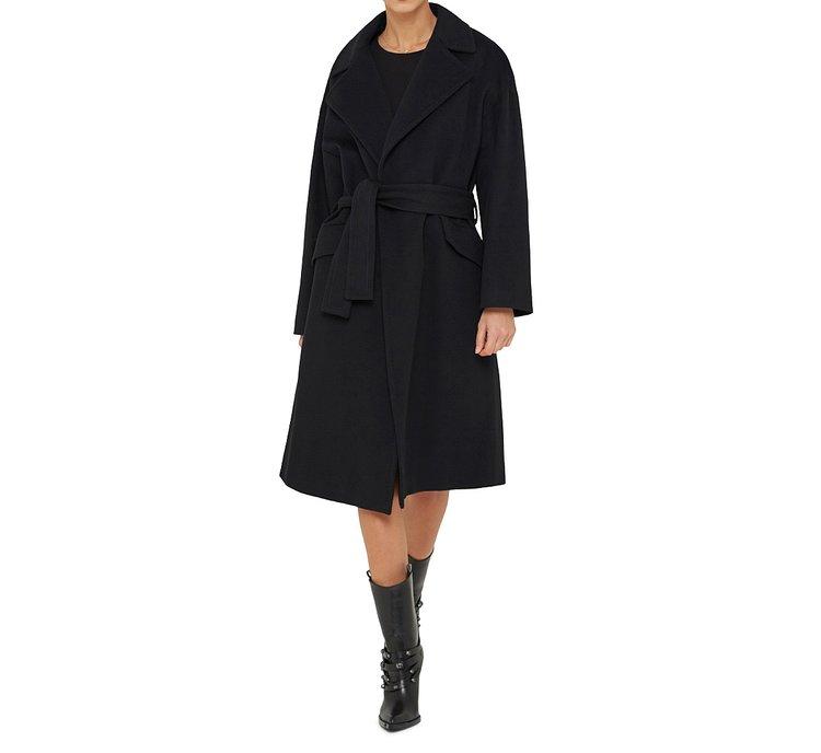 Пальто из 100% шерсти