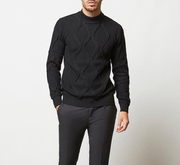Maglione in morbida lana