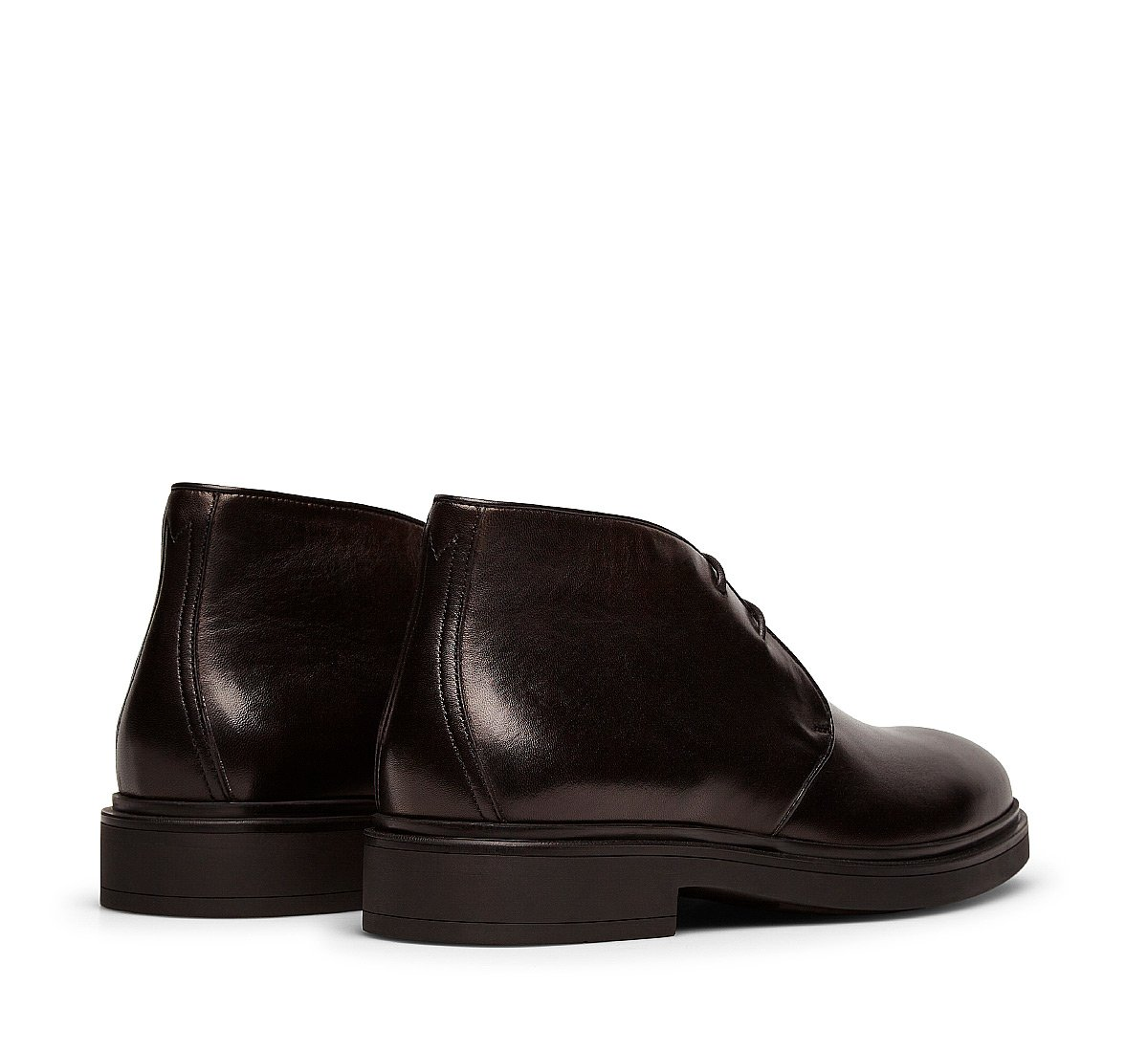 Two-eyelet ankle boots