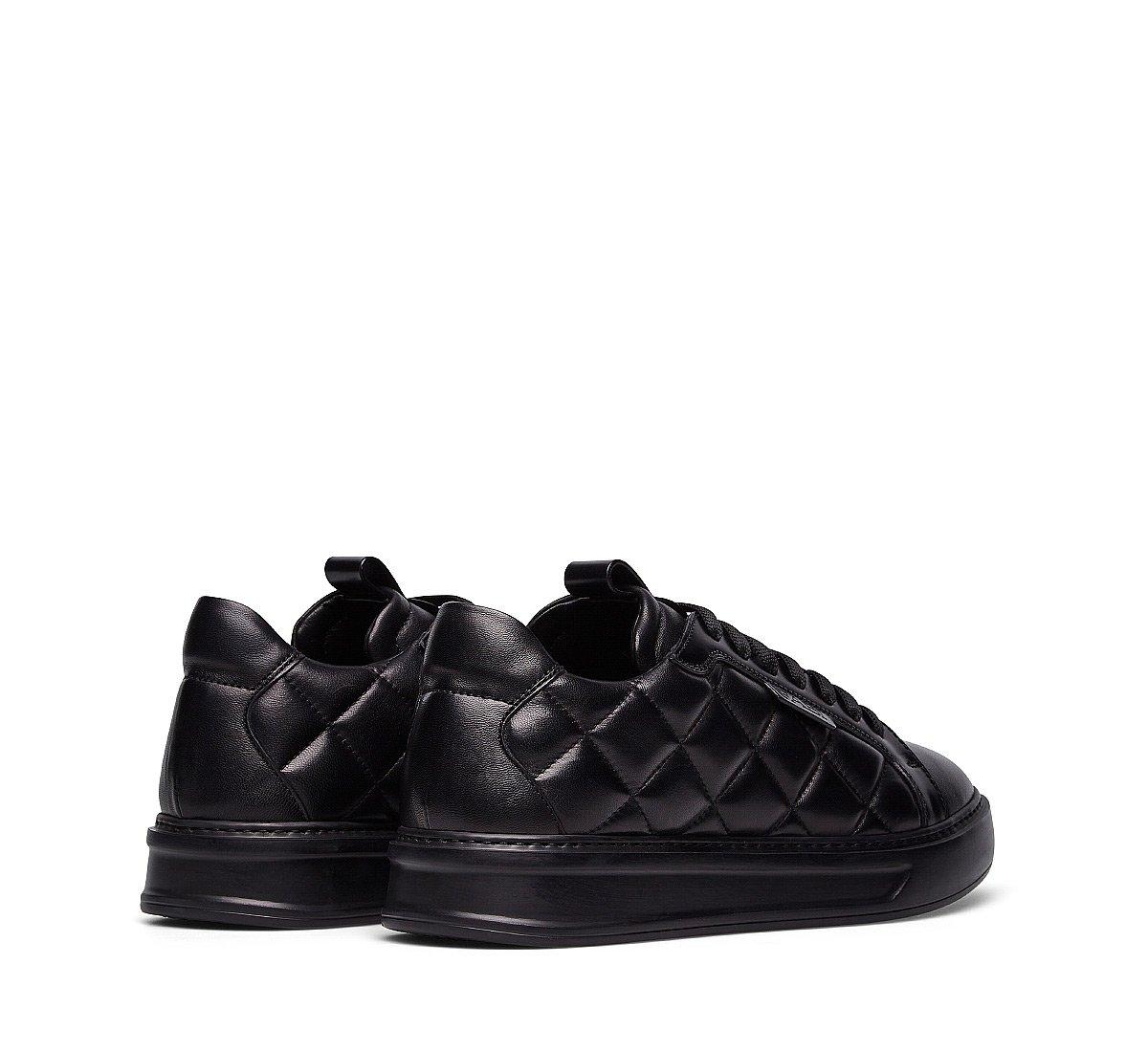 Sneaker in nappa