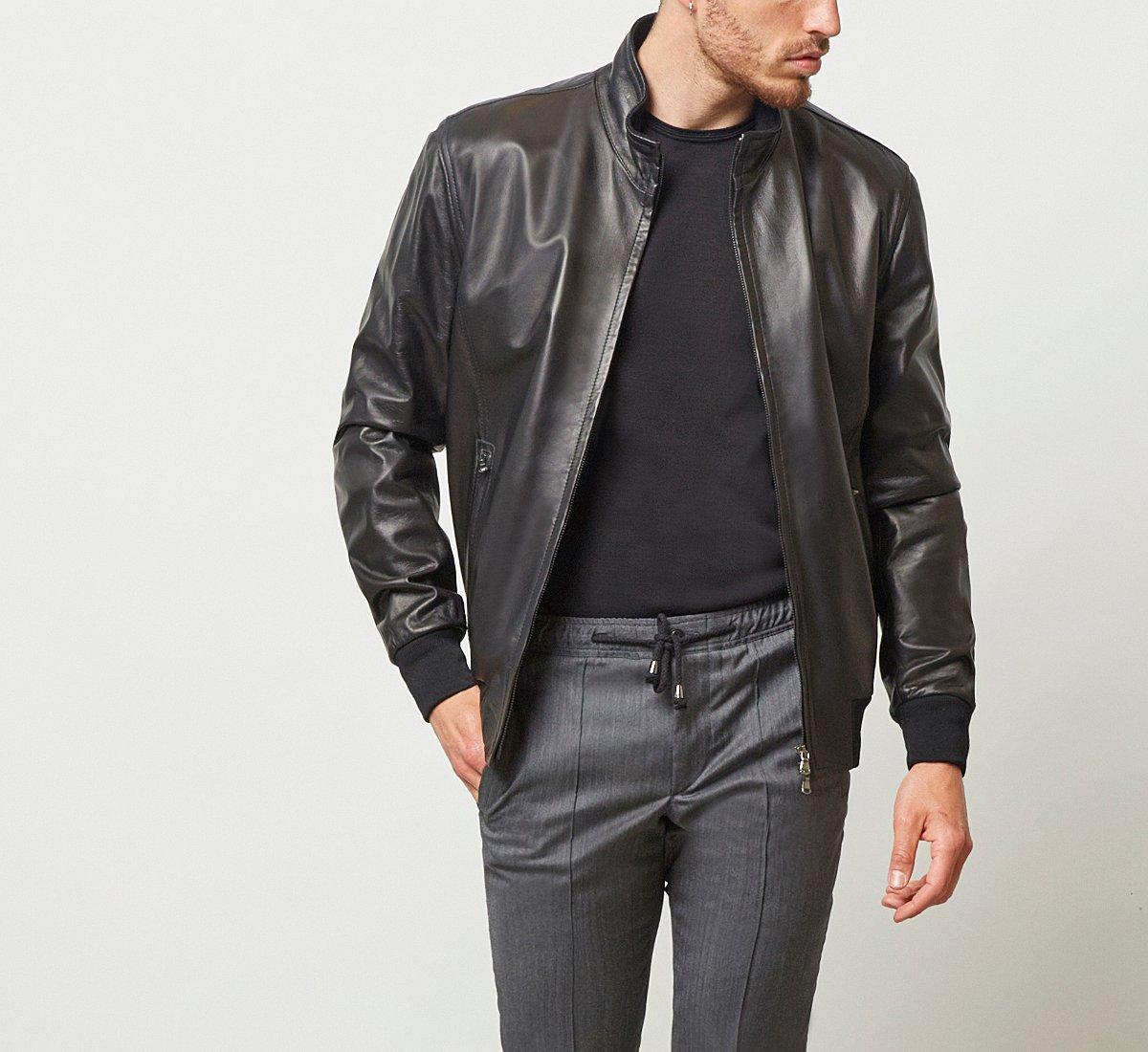 Куртка из кожи