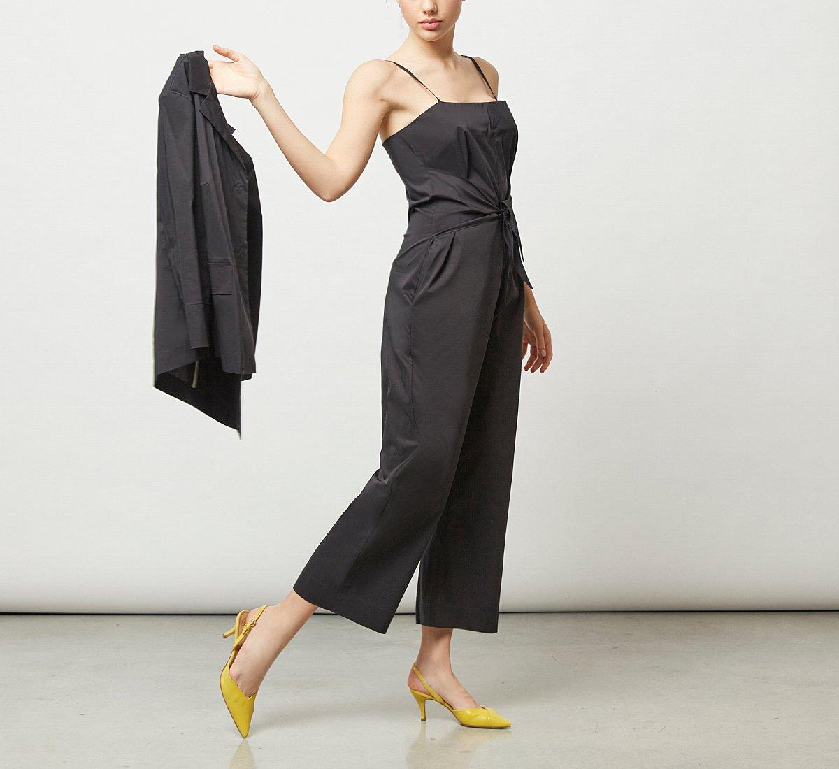 Soft fabric jumpsuit