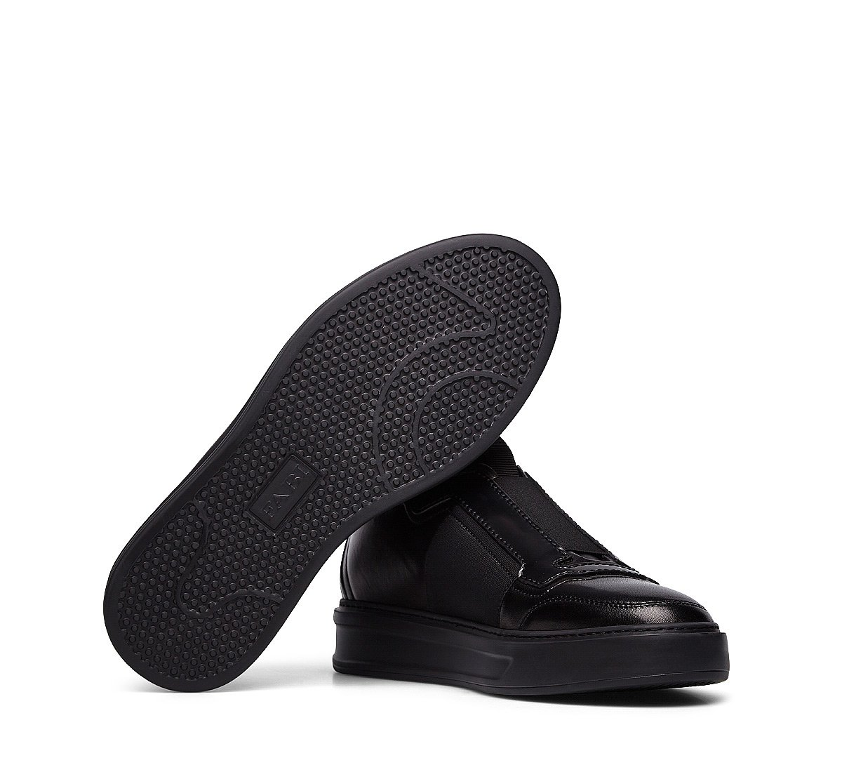 Nappa leather slip-ons