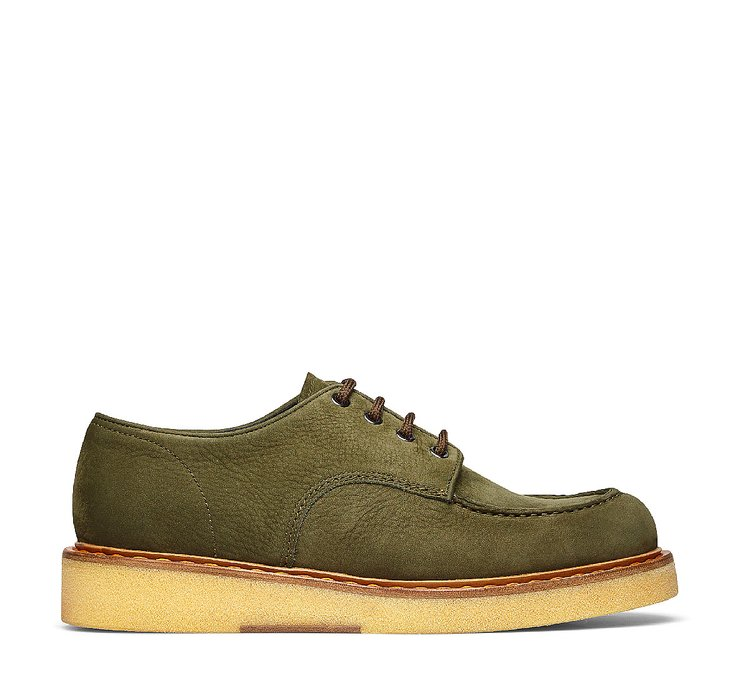 Barracuda lace-ups in soft Nubuck leather