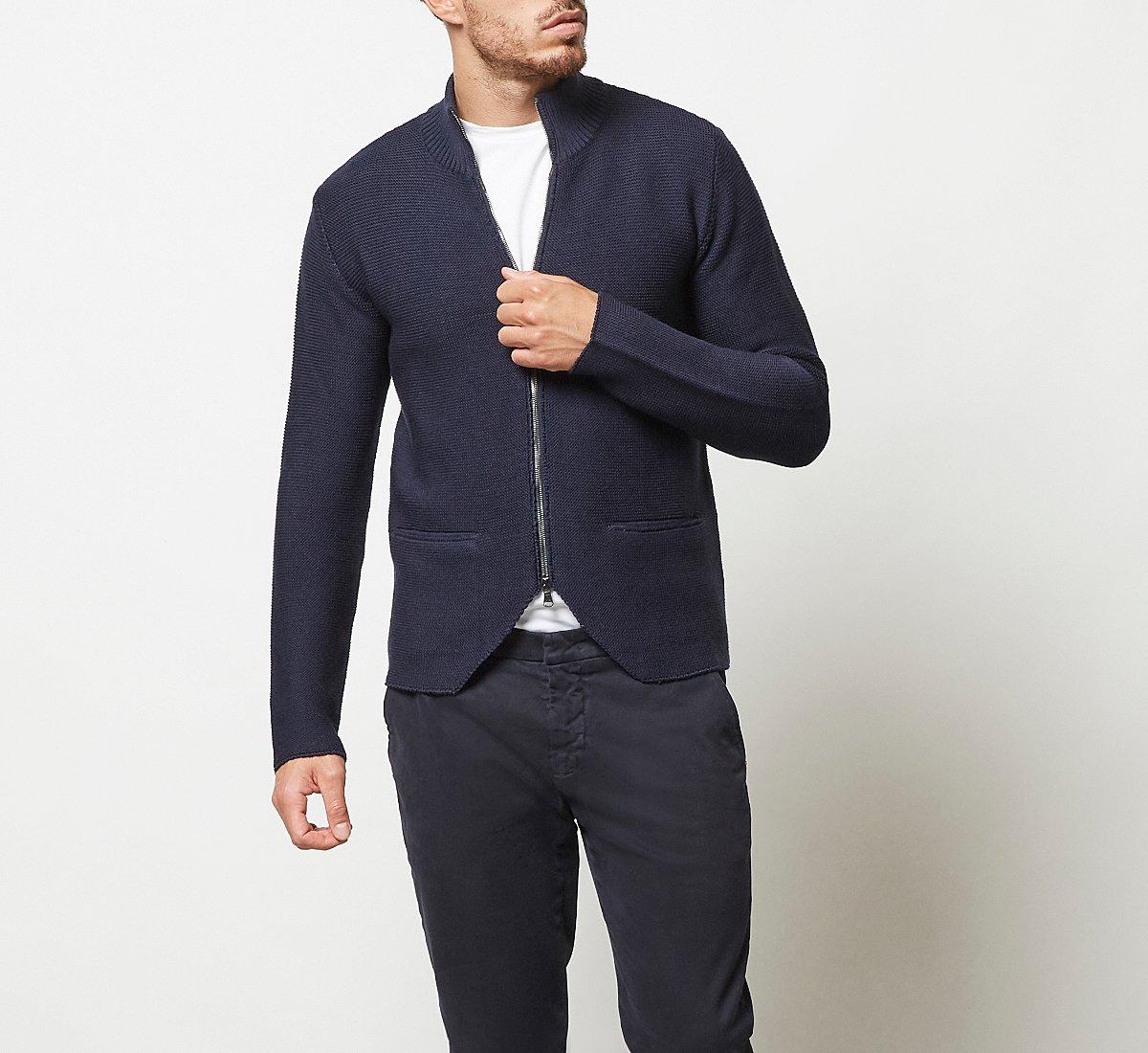 Cardigan in calda lana