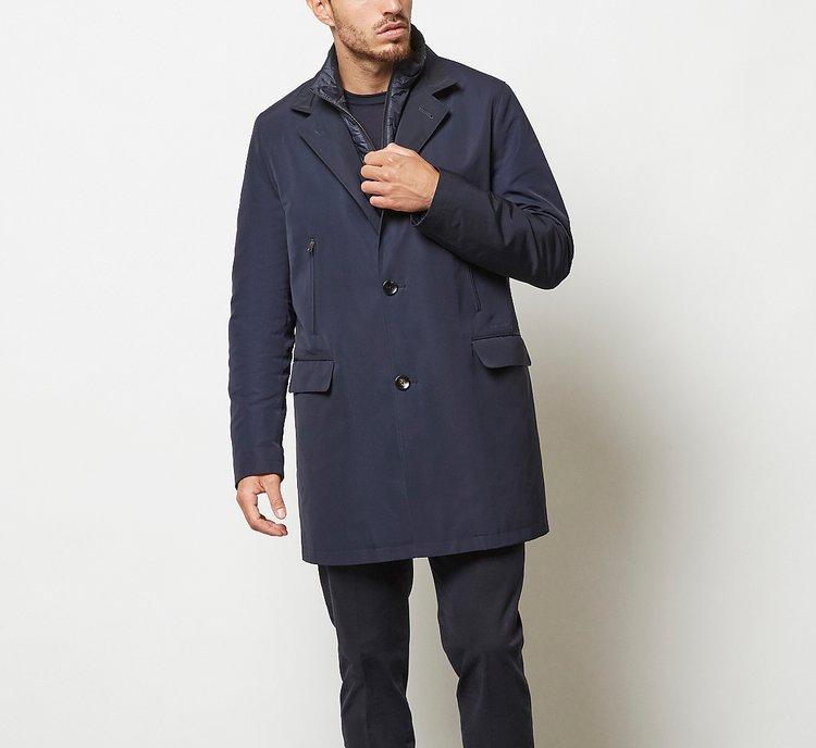Cappotto con interno impermeabile