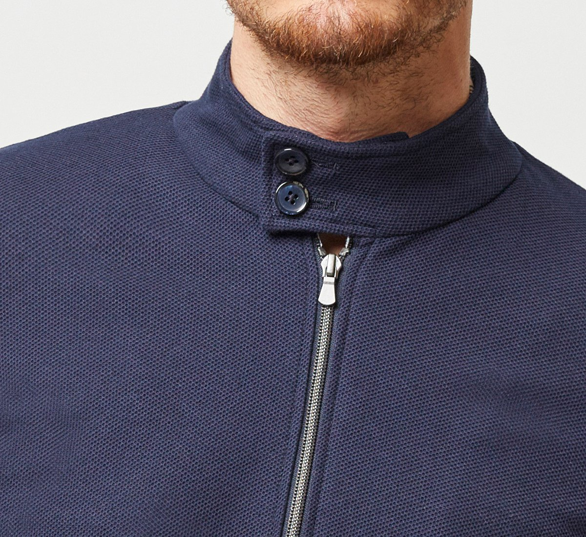 Cardigan in jersey