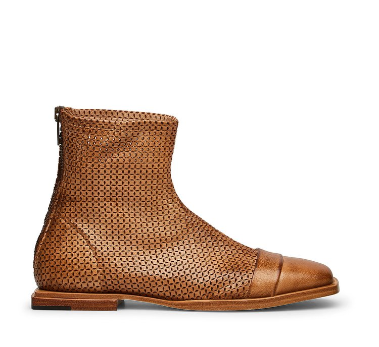 Barracuda vintage-style ankle boots