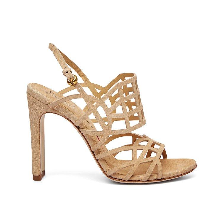 Sandalo in suede