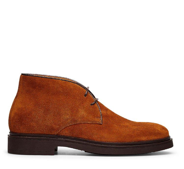 Ботинки-дезерты с двумя отверстиями
