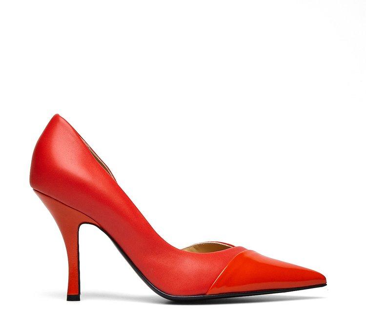 Туфли-лодочки из наппы