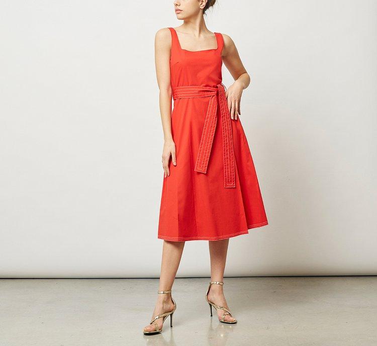 Платье из легкого хлопка