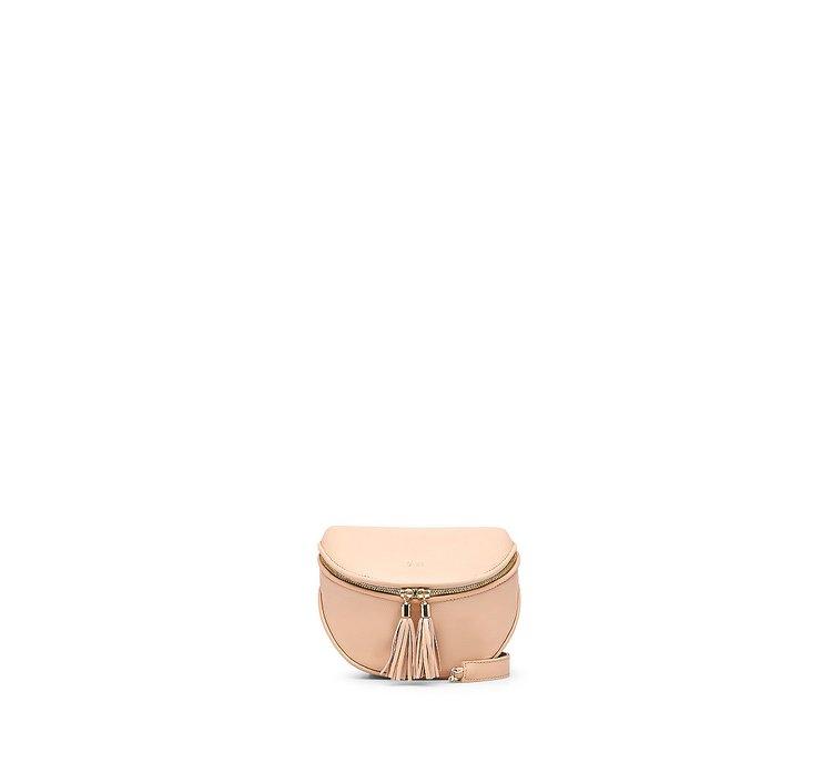 Мини-сумка из мягкой кожи