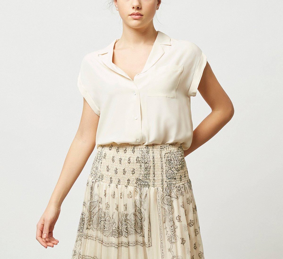 Light fabric shirt