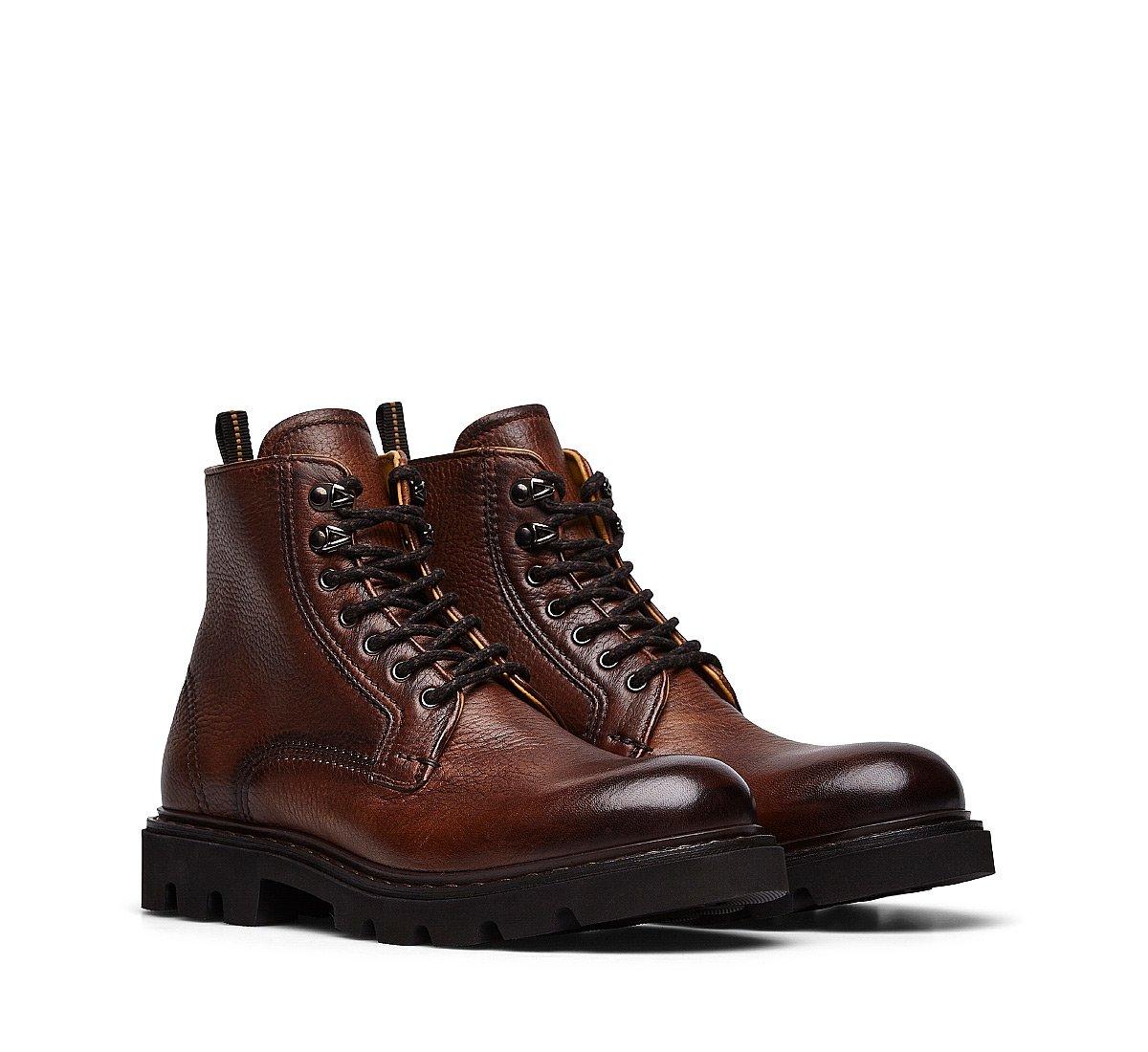 Deerskin ankle boots