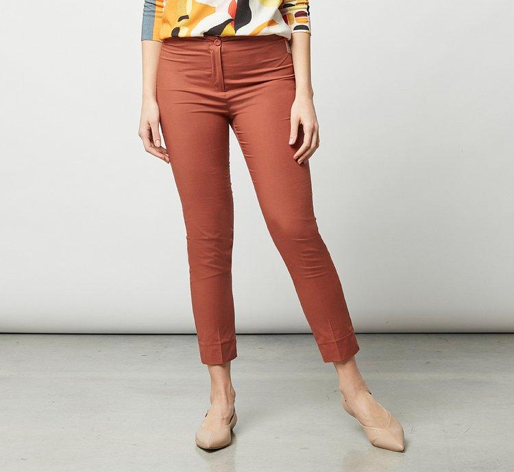 Pantalone in tessuto elasticizzato