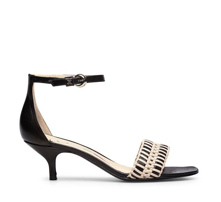 Soft calfskin sandal
