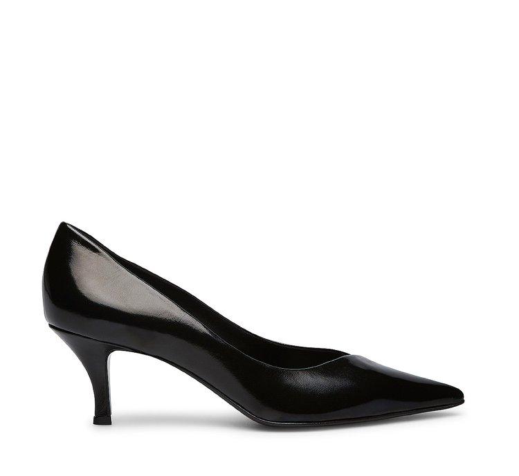 Туфли-лодочки из кожи