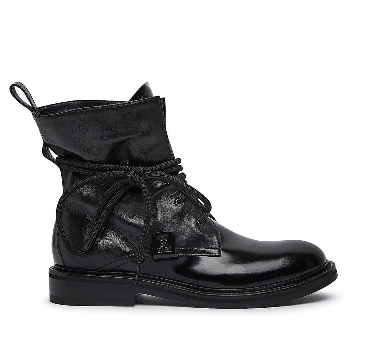 Fabi brushed leather ankle boots