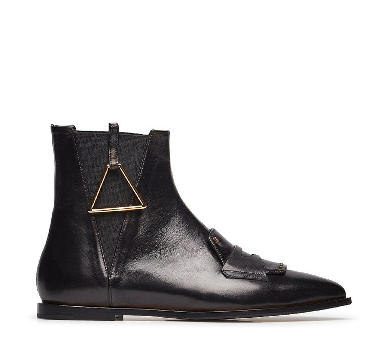 Fine nappa leather Beatle boots