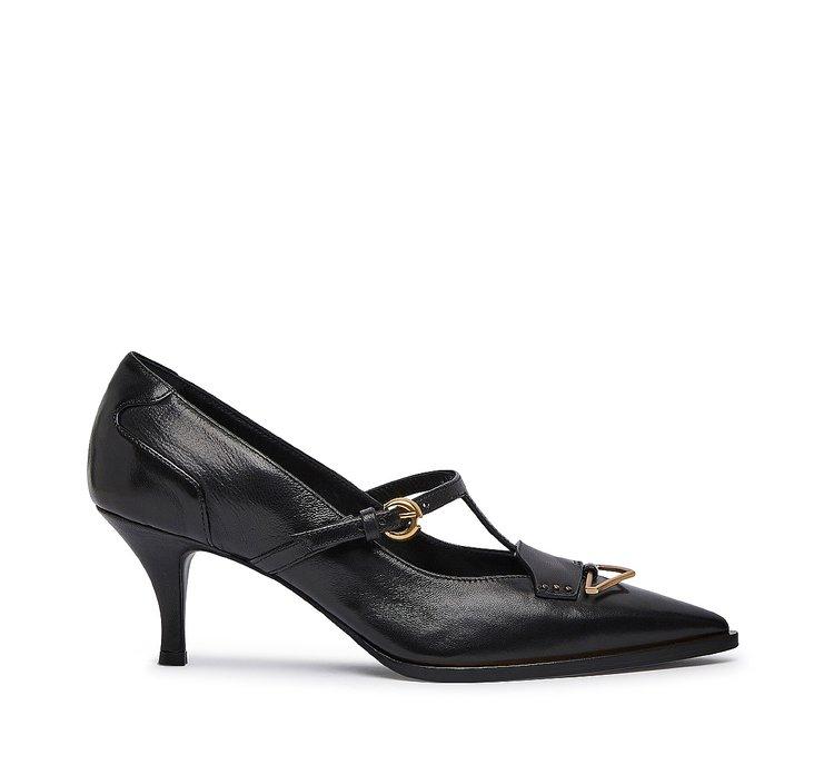 Туфли Мэри Джейн из наппы