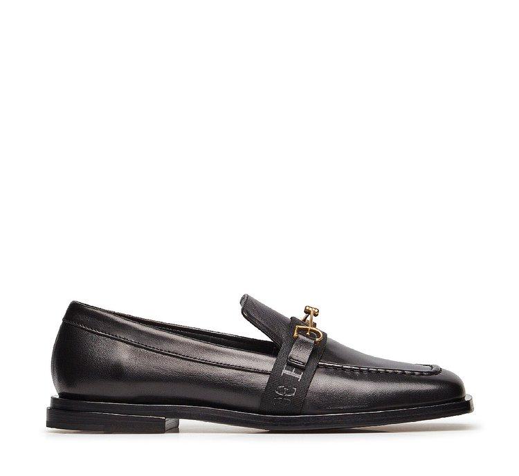 Nappa leather moccasins