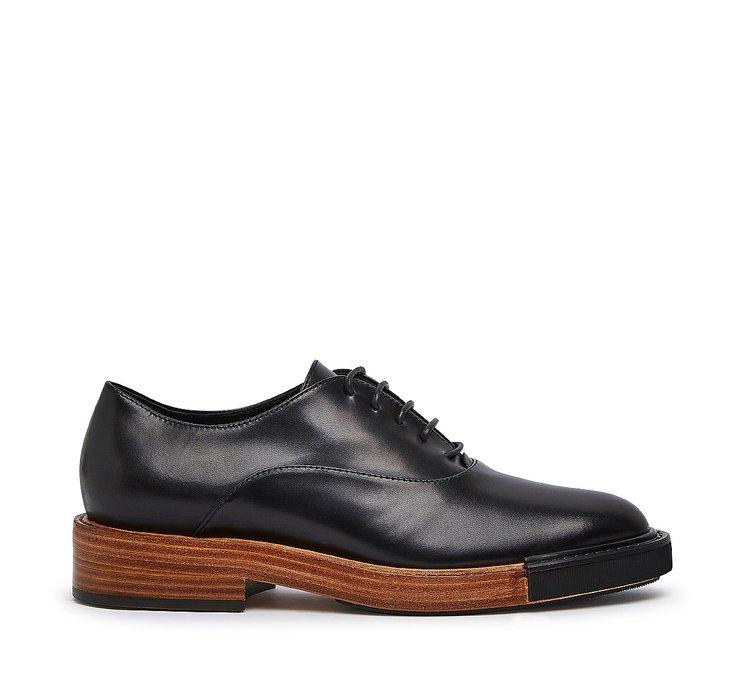 Туфли на шнуровке Fabi classic из ценной телячьей кожи