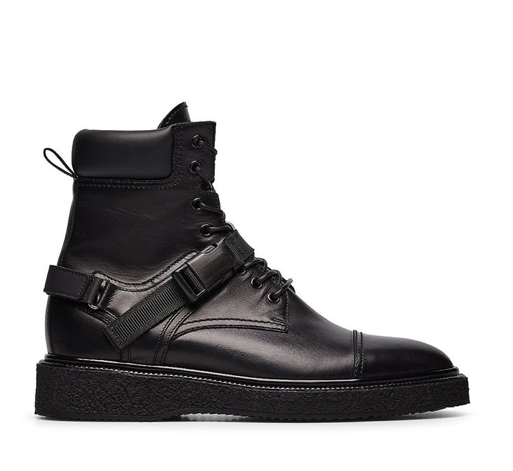 Online exclusive - Soft calfskin ankle boots