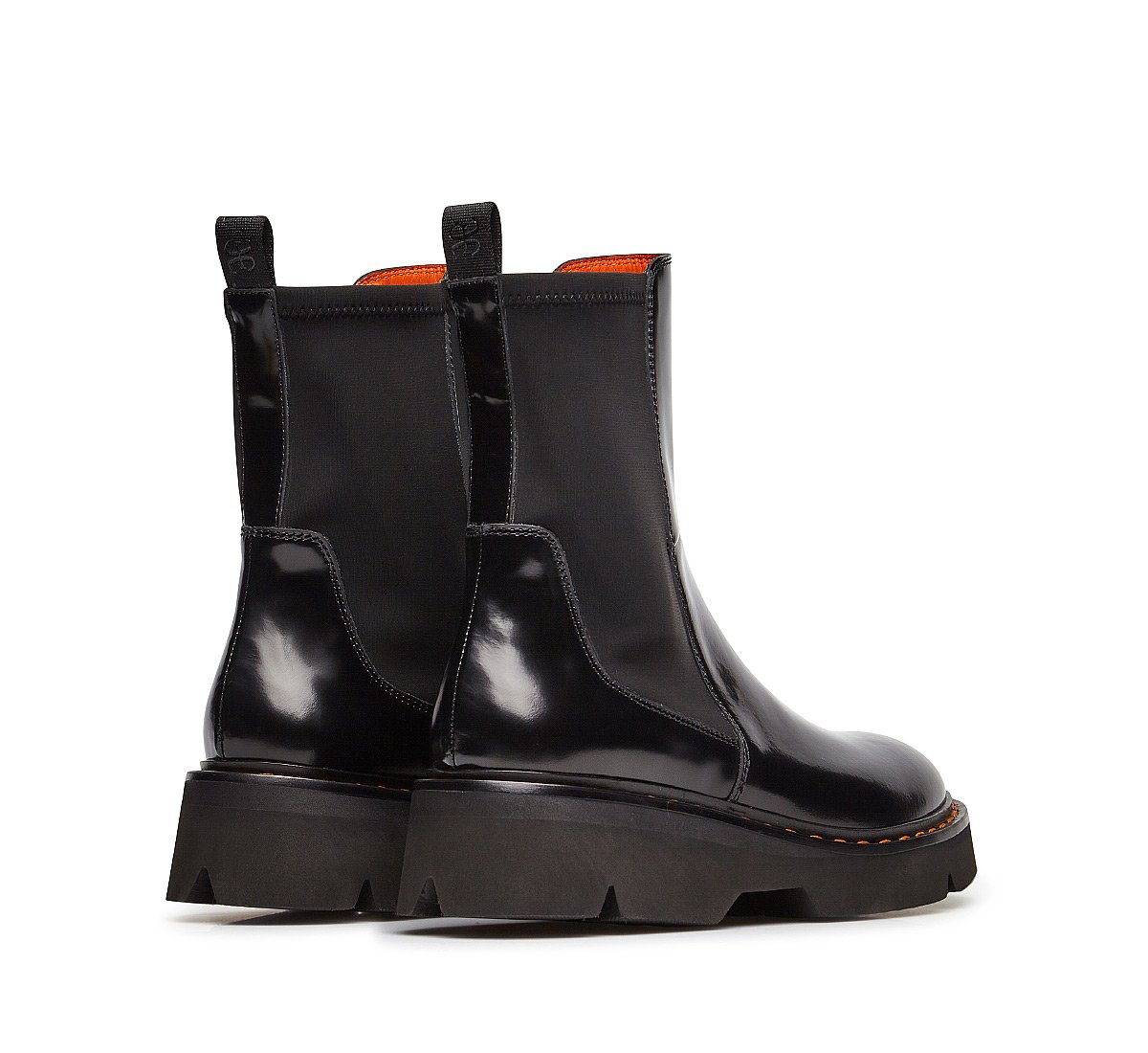 Beatle boots in brushed calfskin
