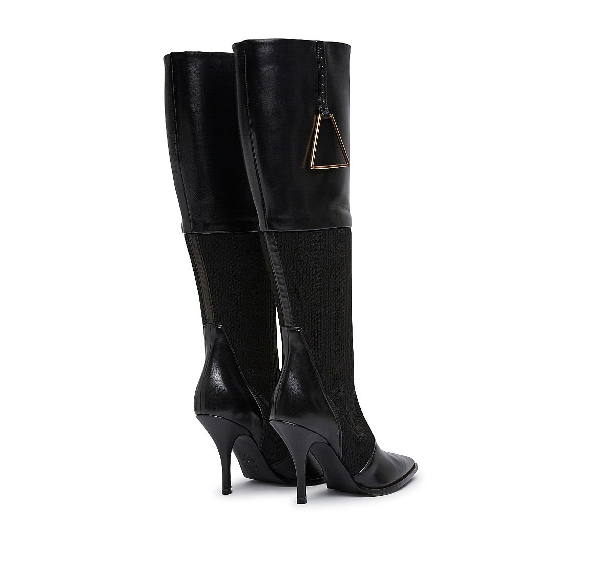 Nappa leather boots