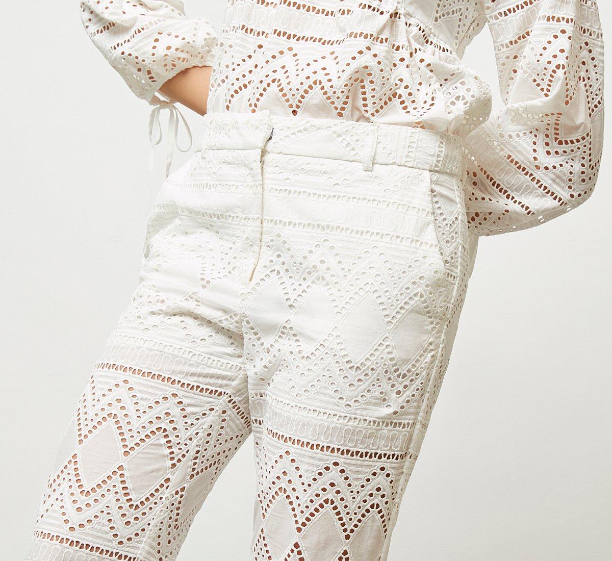 Классические брюки из ткани