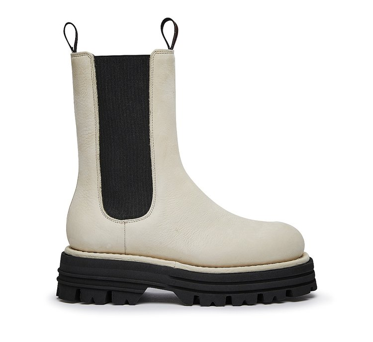 Barracuda high Beatle boots in soft Nubuck leather